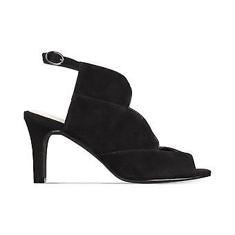Alfani Womens Nayaah läder Peep Toe Casual Slingback sandaler