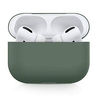 SIFREE Flexible Case for AirPods Pro - Silicone Skin AirPod Case Cover Flexible - Khaki