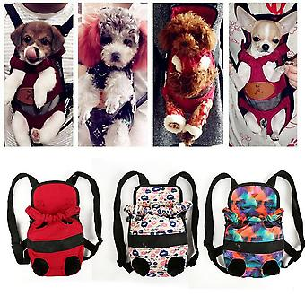 Sicurezza portatile Small Dog Carrier Travel Travel Zaino anteriore - Trasporto borse sacchetto