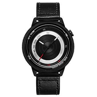 BREAK T45 einzigartige Stil Uhr Leder oder Gummiband Quarzuhr