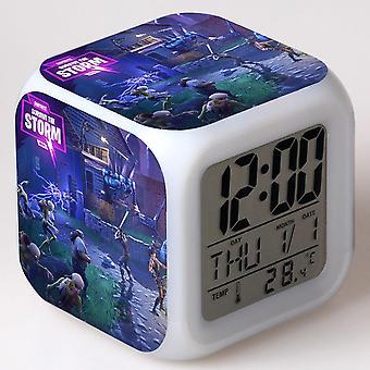 Colorful Multifunctional LED Children's Alarm Clock -Quinze dias #26