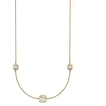 Elements Gold Women Mother of Pearl Necklet GN305W