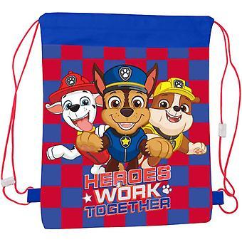 Paw Patrol Heroes Kuntosali laukku Lasten laukku 43x33cm