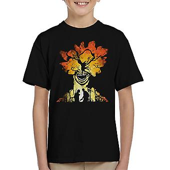 The Last Of Us Clicker Carnage Kid's T-Shirt
