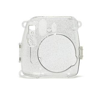 Instax 70100139353 mini 9 glitter kotelo - läpinäkyvä kamerakotelo