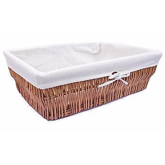 Wider Shallow Storage Hamper Basket