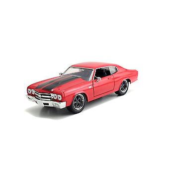 Chevrolet Chevelle SS 454 (1970) Diecast-malliauto fast and furious 7:stä