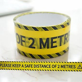 Opp Warning Tape, Danger Caution Barrier Remind Work Safety Adhesive Sticker