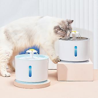 Gatto Tranquillo Bevitore Auto Alimentatore Acqua Fontana Acqua Ciotola Bere Ciotola Pet Distributore automatico acqua