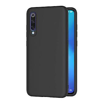 HATOLY Xiaomi Redmi 9 Ultraslim Silicone Case TPU Case Cover Black