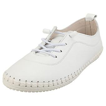Cosmos Comfort Womens Fashion Trainers in White