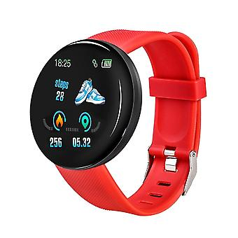 Blodtrykk Fitness Tracker - Runde Smart Watch For Android