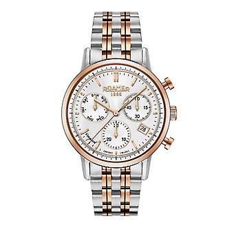 Roamer 975819 49 15 90 Vanguard Chronograph II Two Tone Wristwatch