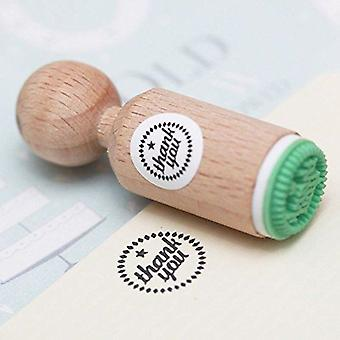 Thank You Mini Rubber Stamp | Greetings Party Crafts Scrapbook
