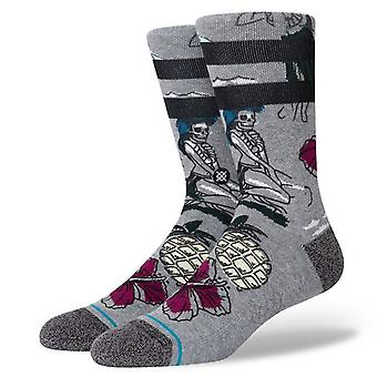 Stance Men's Socks ~ Haunted Hula grey