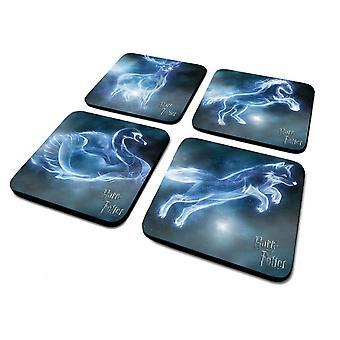 Harry Potter Patronus Coaster (Pack of 4)