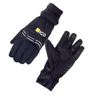 Eigo Windster Foam Cycling Gloves Black