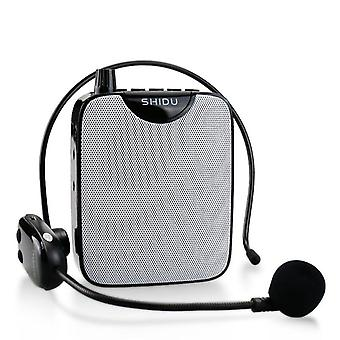 Portable  Wireless Uhf Voice Amplifier, Microphone, Aux Audio Speaker