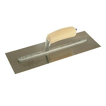 "Marshalltown MXS73SS Cement Trowel SS Wooden Handle 14x4.3/4"" M/TMXS73SS"