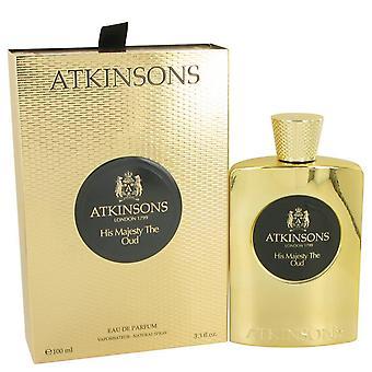 His Majesty The Oud Eau De Parfum Spray By Atkinsons 3.3 oz Eau De Parfum Spray