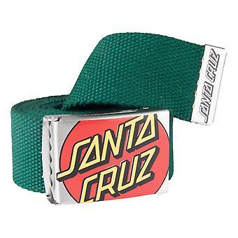 Santa Cruz Crop Dot Belt - Evergreen