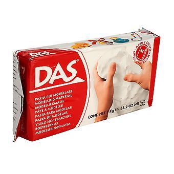 DAS 387500 Air Drying Modelling Clay 1kg White