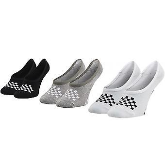 Vans Girls 3 Pack Classic Canoodle Ankle Trainer Pop Socks Assortiment 13.5K-3.5 US