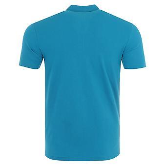 Napapijri Ealis Organic Cotton Polo Shirt - Mykonos Blue