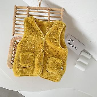 Zimowa kamizelka dziecięca, odzież dla dzieci, kamizelka polarowa, odzież bez rękawów,