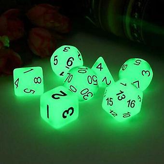 Luminous Mini Dice Polyhedral Sided