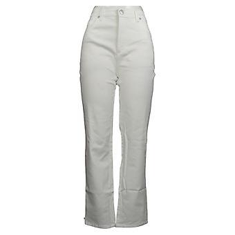 Gloria Vanderbilt Women's Jeans Classic Fit High Rise Tapered Leg White