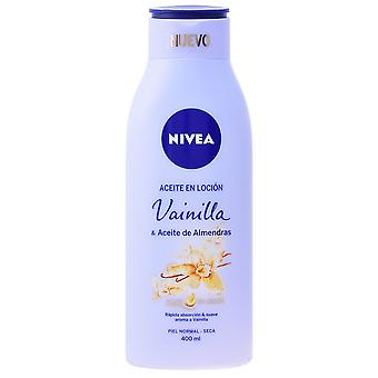 ニベア Aceite アドライヤー Vainilla & Almendras 400 ml
