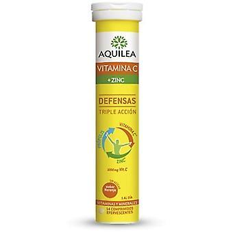 Aquilea Vitamine C + zinc 14 comprimés