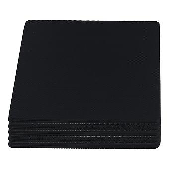 50pcs Black Computer Case Fan Dustproof Dust Filter Fits Standard 140mm Fans