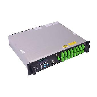 16port Edfa Catv Optischer Verstärker 23dbm Edfa Ftth High Power 16pon 1550nm