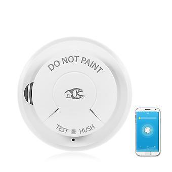 Sensor de alarme de incêndio inteligente do detector de fumaça wifi