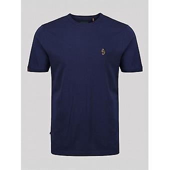 Luke 1977 Traffs Core Crew T-Shirt - Dark Navy