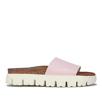 Women's Papillio Cora Chunky Slide Sandals Narrow Width in Pink