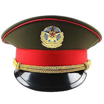 Fashion Red Performance Green Military Hat