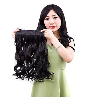 Women's natural realistic wigs fashion synthetic wig wave hairpiece