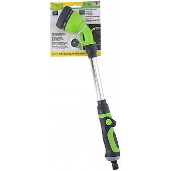 extendable spray head eight positions 45 cm green/grey