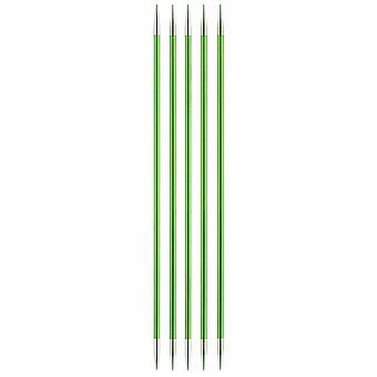 KnitPro Zing: Knitting Pins: Double-Ended: Set of Five: 15cm x 3.50mm