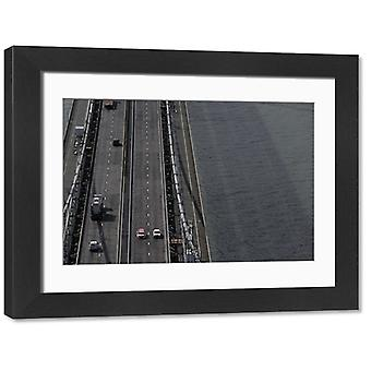 halfomark. Large Framed Photo. 2014 British Touring Car Championship, <br> Knockhill, Scotland..