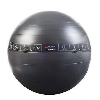 Pure2Improve Gymnastics Ball 75 cm Black