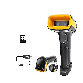 Handheld Wireless Qr Barcode Scanner And K1 Weird 1d/2d Qr Bar Code Reader