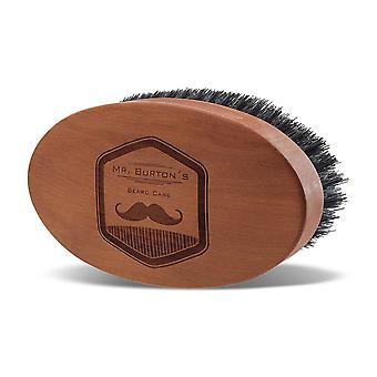 FengChun Mr Burton s Luxus Bartbrste aus Echt! Holz Made in Germany mit 100% natrlicher