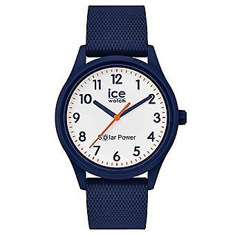 Ice-Watch - ICE aurinkovoima Sininen verkko - Unisex sininen kello silikonihihnalla - 018480 (Pieni)