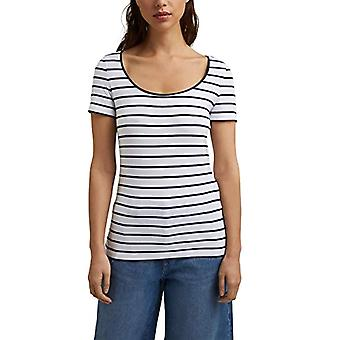 ESPRIT 041EE1K304 T-paita, 100/valkoinen, XS Naiset