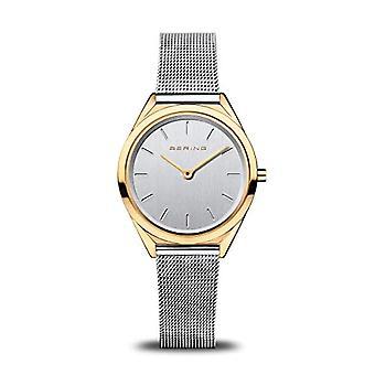 BERING Quarzuhr Damen mit Armband aus Edelstahl 17031-010