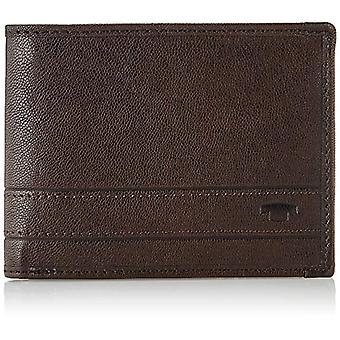 TOM TAILOR Terry, Men's Wallet, Brown, Small